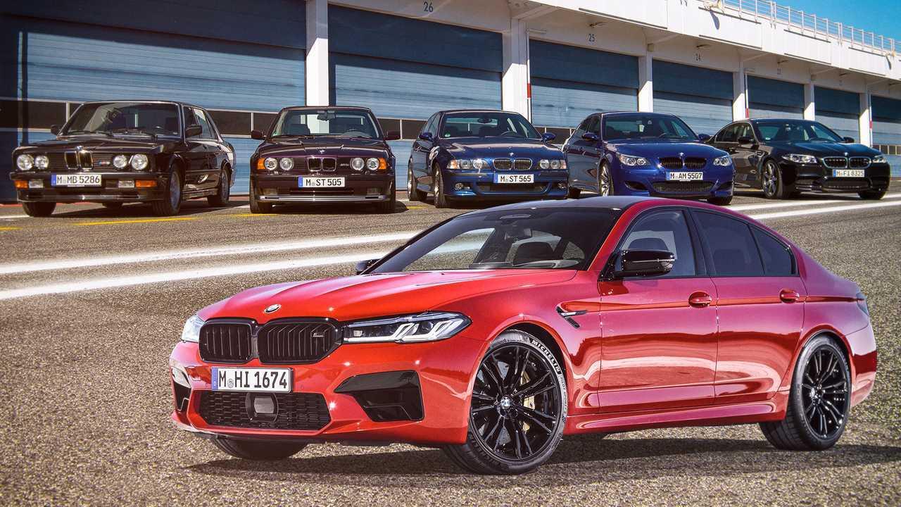 BMW M5 History 2020