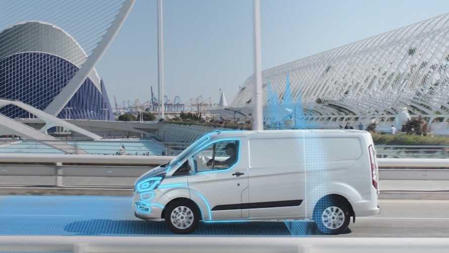 Ford Geofencing, i confini del furgone elettrico