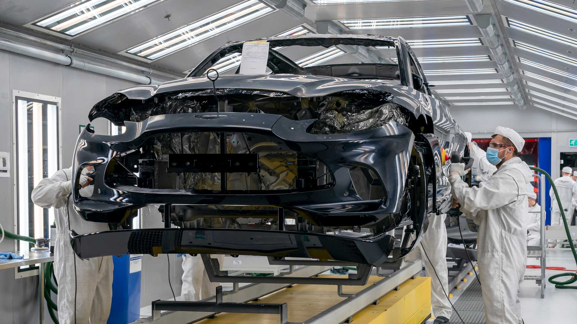 Aston Martin finally starts production of much-needed DBX SUV