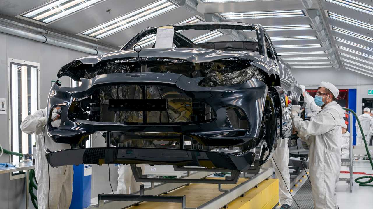 Aston Martin DBX production start lead image
