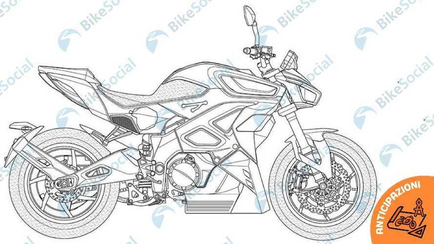 Kymco Revonex disegni
