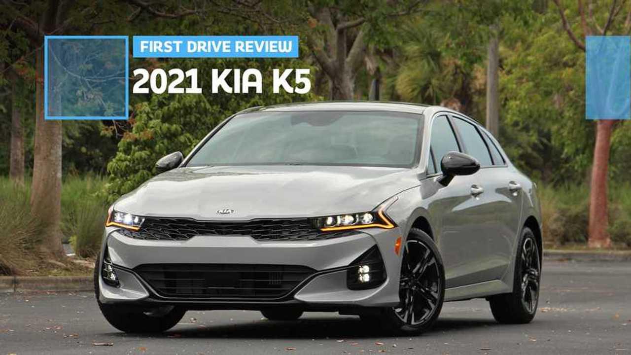 2021 Kia K5: First Drive