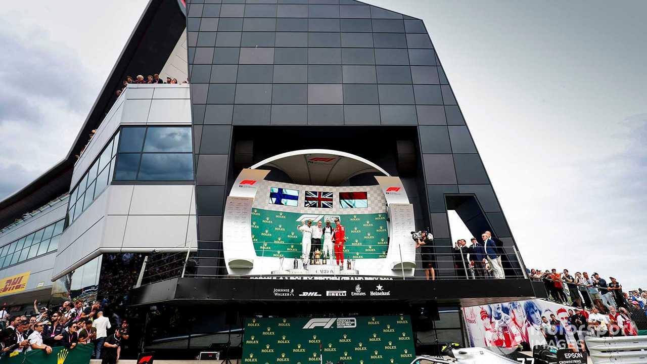 British GP 2019 podium