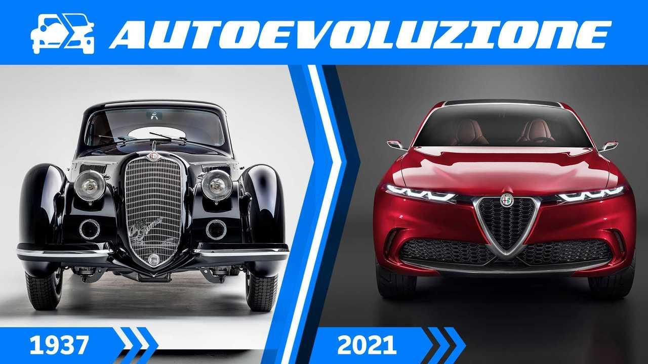Scudetto Alfa Romeo, la storia e l'evoluzione