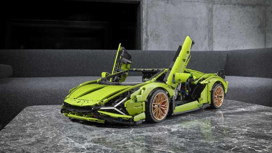 Lo último de Lego Technic es un Lamborghini Sián... de 3.696 piezas