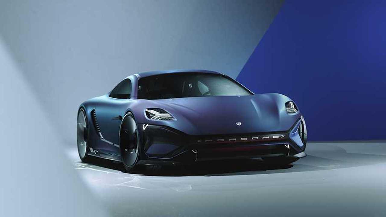 2035 Porsche 99X EV Sports car