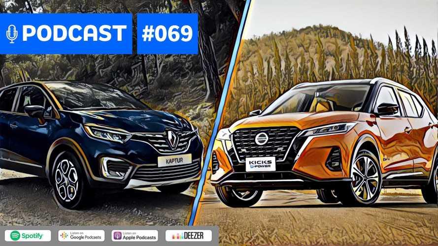 Motor1.com Podcast #69: Os 7 novos carros que Renault e Nissan terão no Brasil