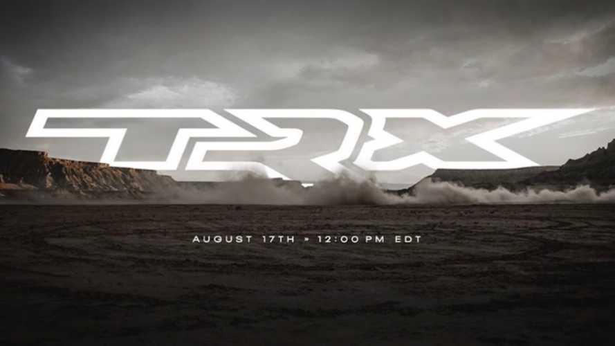 2021 Ram 1500 TRX Reveal Happening August 17