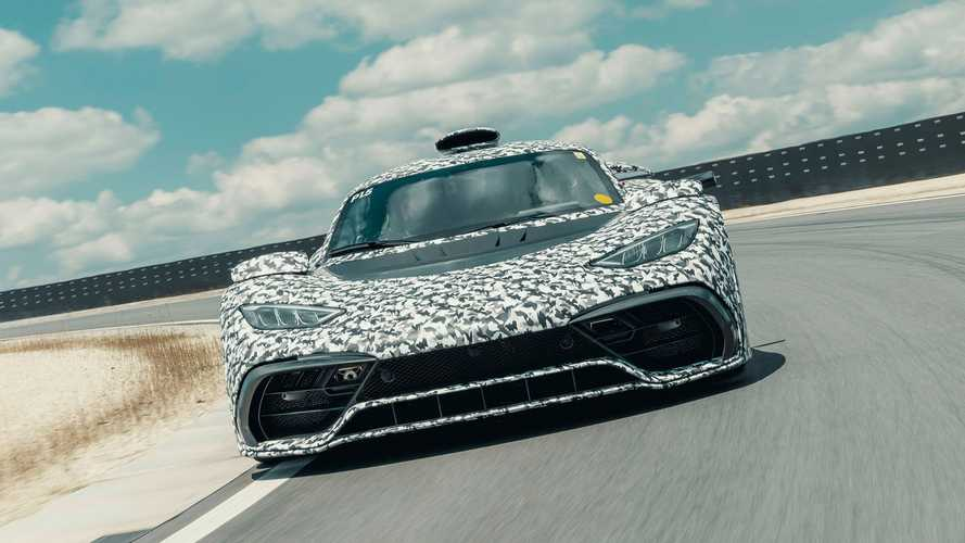Mercedes-AMG One hypercar hits the track, gets closer to production