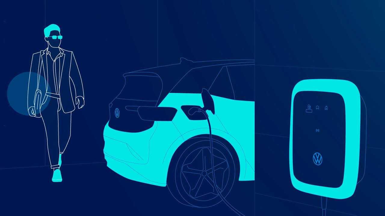 Volkswagen ID.4 charging