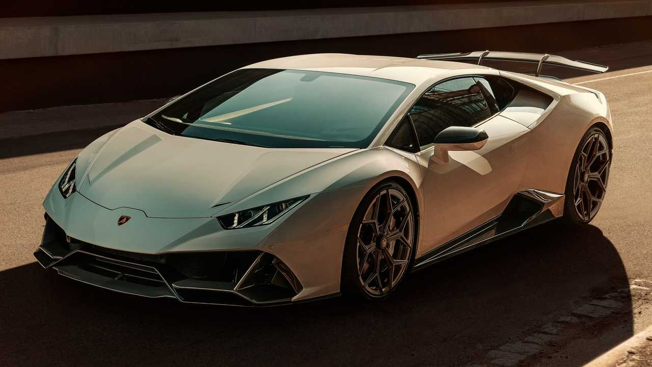 Lamborghini Huracan Evo által Novitec