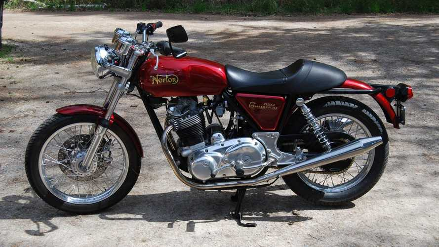 This 1975 Norton Commando 850 Mark III Has The Modern Touch