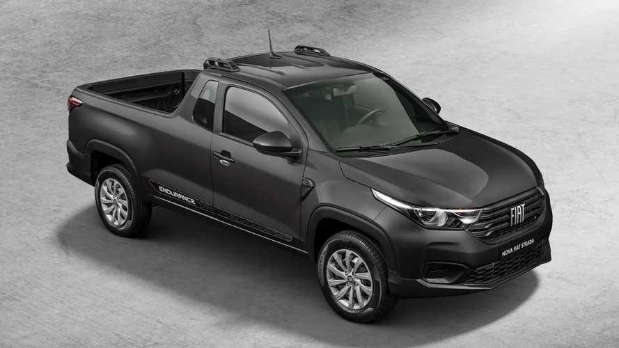 Nova Fiat Strada 2021 já está disponível para locação