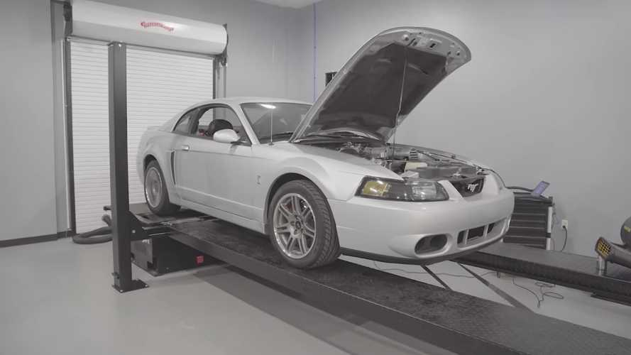 2003 Ford Mustang SVT Cobra 'Terminator'  With 2,500 Miles Hits The Dyno