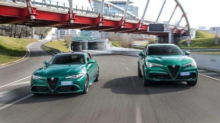 Orders open for updated Alfa Romeo Giulia and Stelvio Quadrifoglio