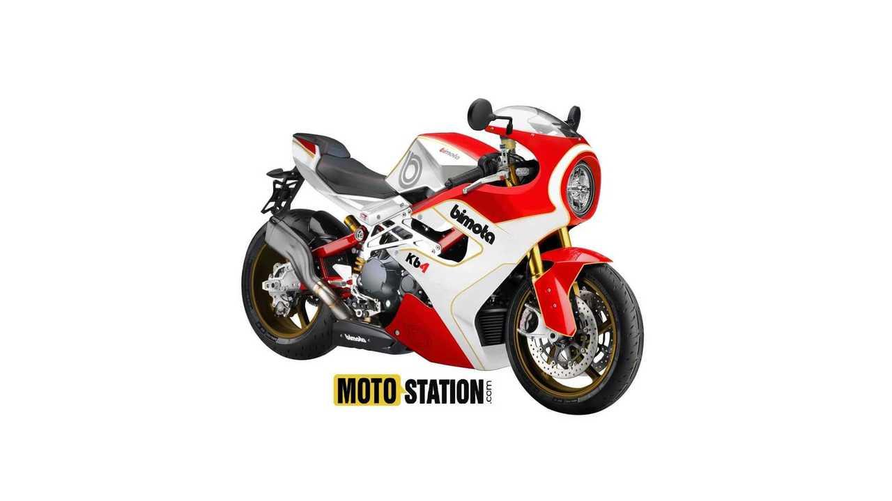 Bimota Kawasaki KB4 Rendering