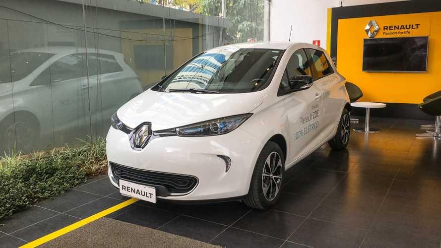 Elétrico mais barato do Brasil, Renault Zoe já está nas lojas