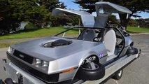 Un aéroglisseur DeLorean