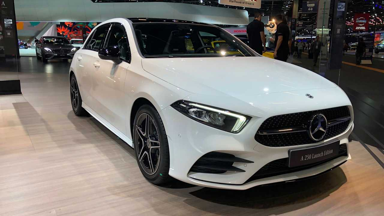 Mercedes-Benz Classe A no Salão de SP