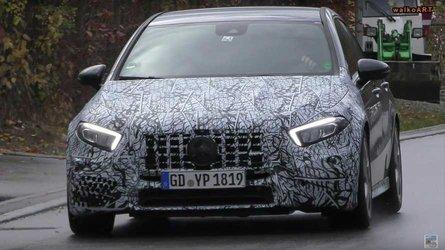Mercedes-AMG A45 вышел на дорожные тесты