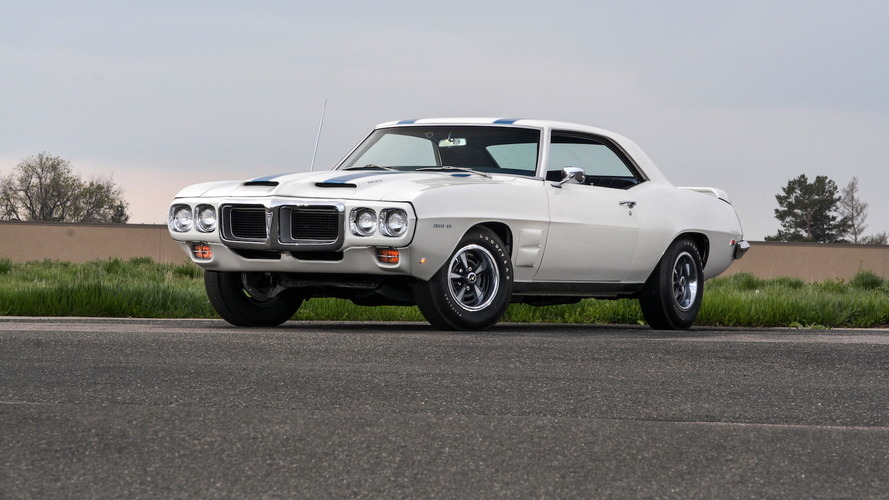 This 1969 Pontiac Trans Am Ram Air IV is one rare bird
