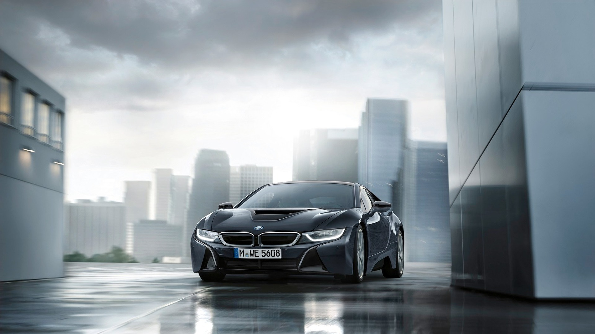 Limited Run Bmw I8 Protonic Dark Silver Edition To Debut In Paris
