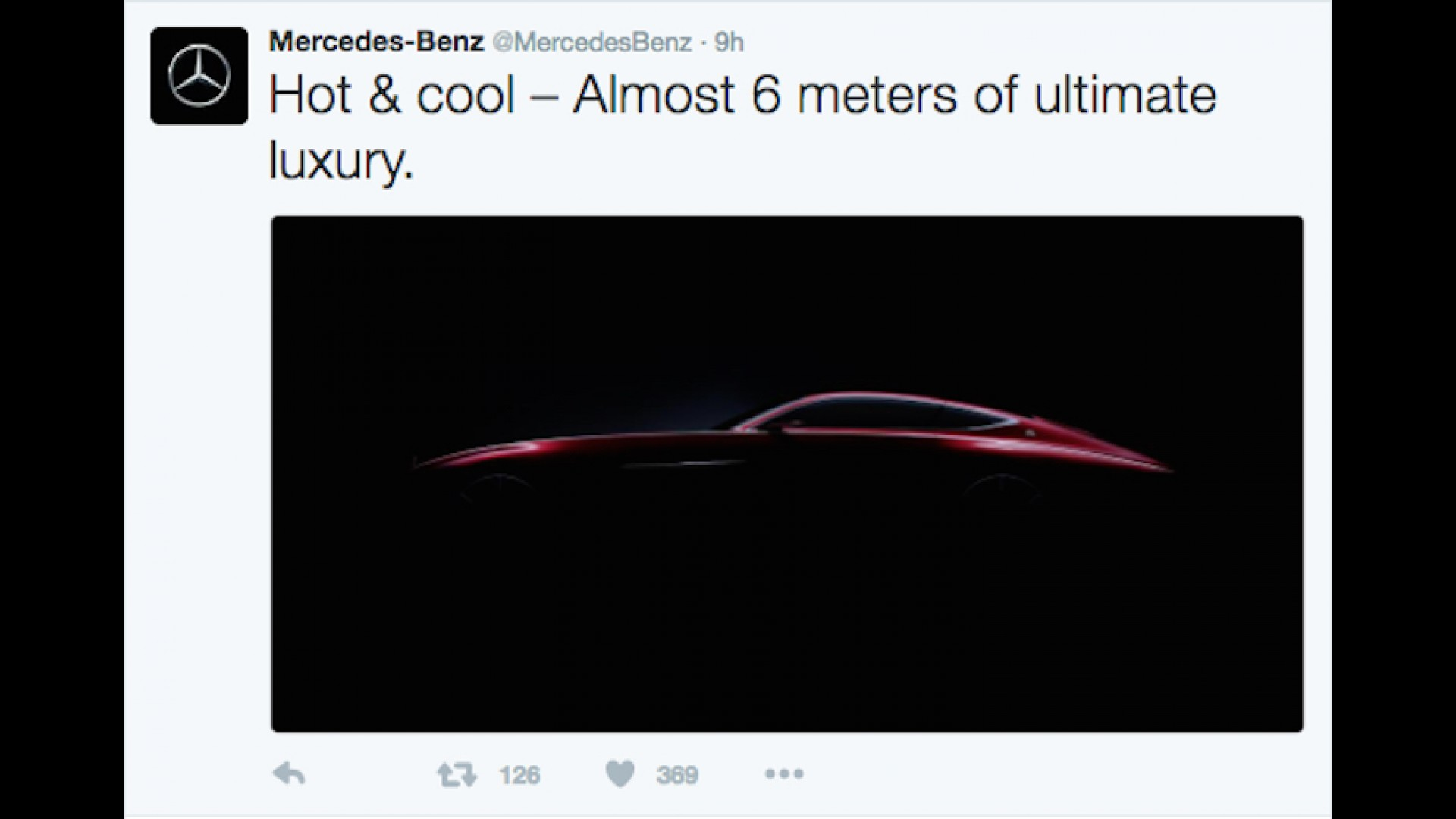 Mercedes Teases Maybach Coupe Ahead Of Pebble Debut