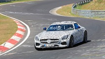 Mercedes-AMG GT Roadster Spy Pics