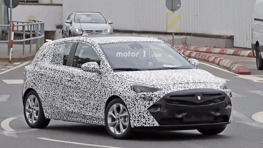 Yeni Opel Corsa'nın ilk casus fotoğrafları