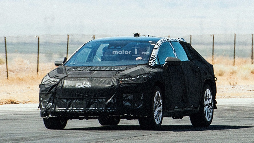 Faraday Future spy photos