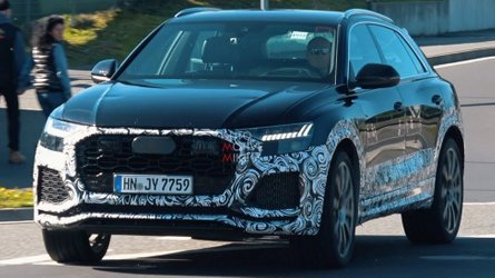 Audi RS Q8 caught playing raspy V8 soundtrack at the Nurburgring