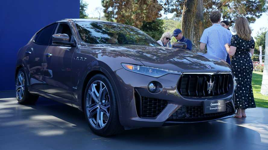 Maserati Debuts Limited-Edition Quattroporte, Levante At Monterey [UPDATE]