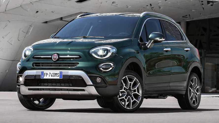 Fiat 500X, niente più trazione integrale