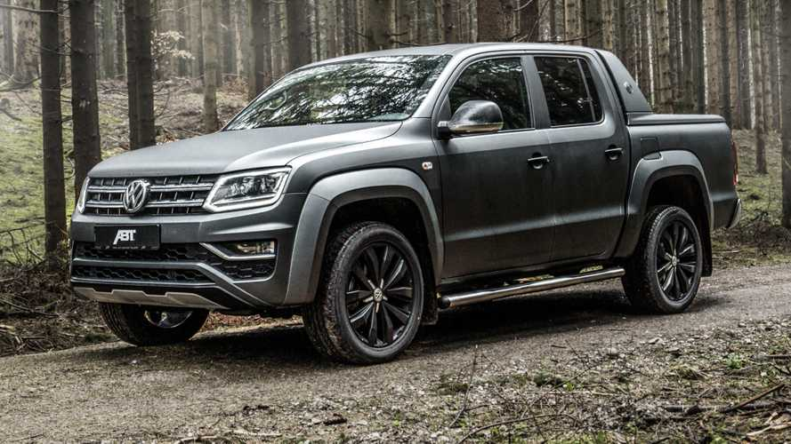 VW Amarok By Abt Pushes Diesel V6 To 302 HP