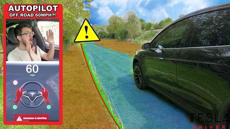 Off-Roading A Tesla Model X On Autopilot: Video