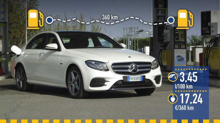 Mercedes-Benz Clase E 300 de 2019: prueba de consumo real