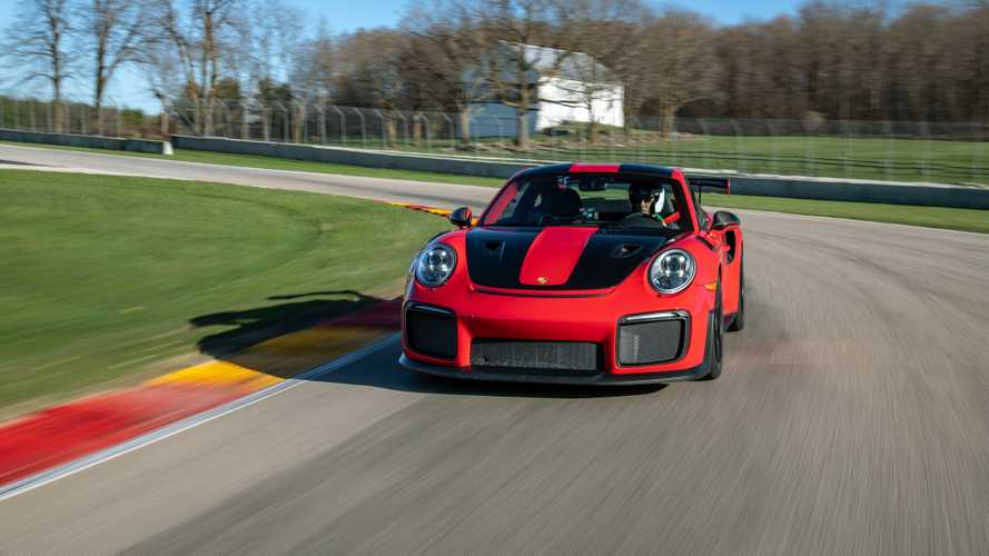 Porsche 911 GT2 RS and GT3 RS at Road America