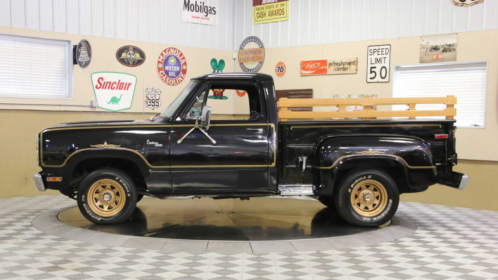 """[""""A 1977 Dodge D100 Warlock Will Bring Magic Into Your Life""""]"""