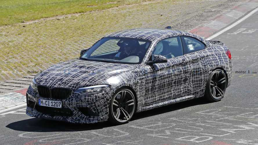 BMW M2 CS spied with bonnet bulge, bigger rear spoiler