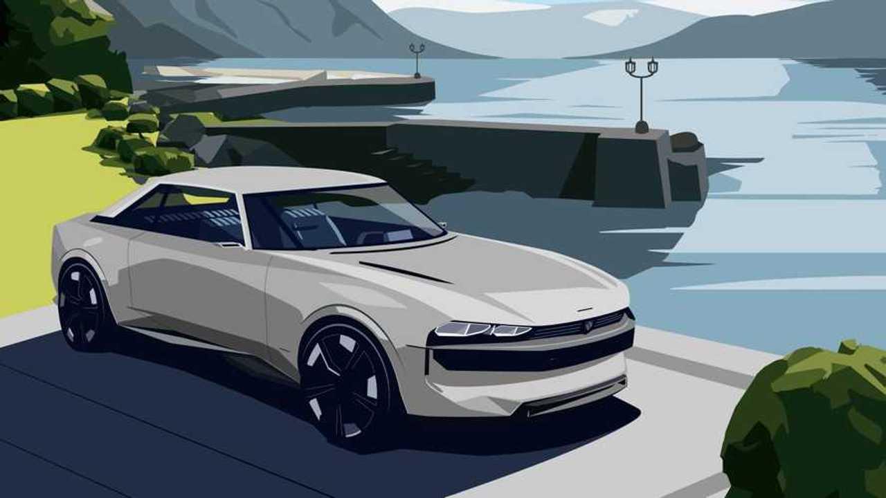 Peugeot e-Legend Villa d'Este