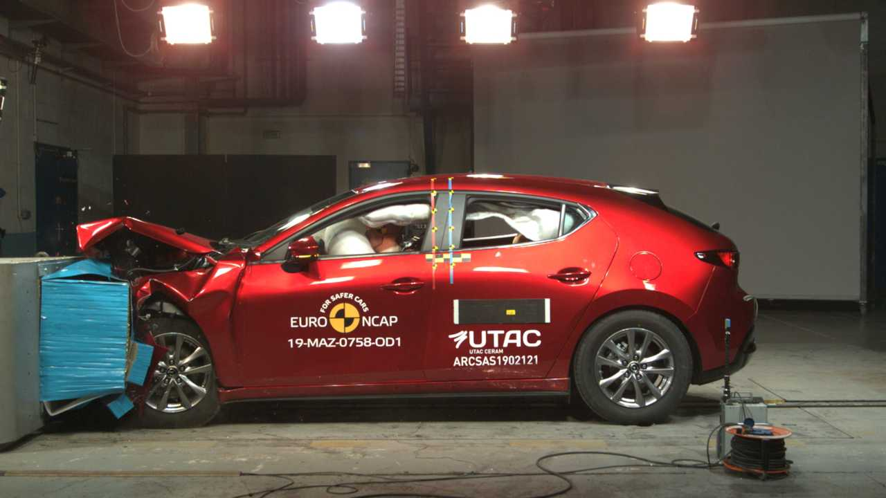 Mazda3, Euro NCAP Crashtest