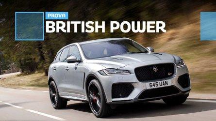 Jaguar F-Pace SVR, il più potente dei suv inglesi