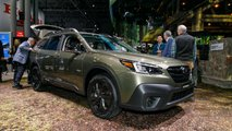 2020 Subaru Outback at the New York Auto Show