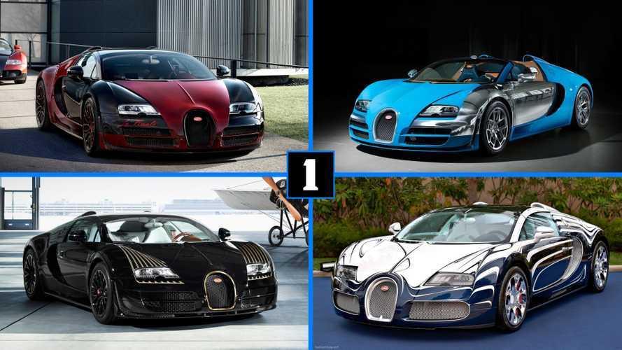DIAPORAMA - Les éditions spéciales de la Bugatti Veyron