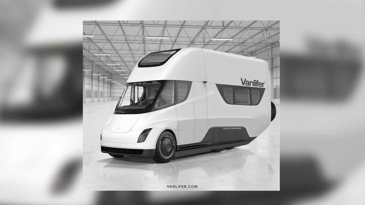 Vanlifer Tesla Semi RV Feature