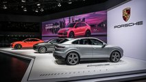 Porsche Cayenne Coupe at Auto Shanghai 2019