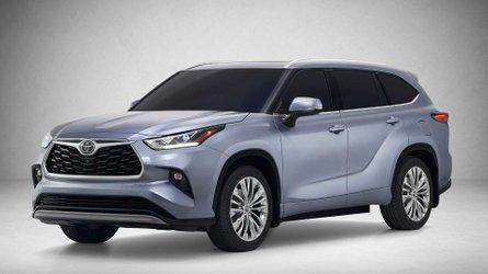 2020 Toyota Highlander, Highlander Hybrid Get Refined Redesign