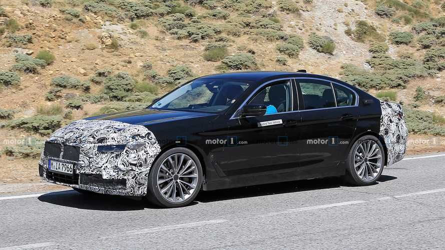 2021 BMW 5 Series Plug-In Hybrid Spied In The Mountains