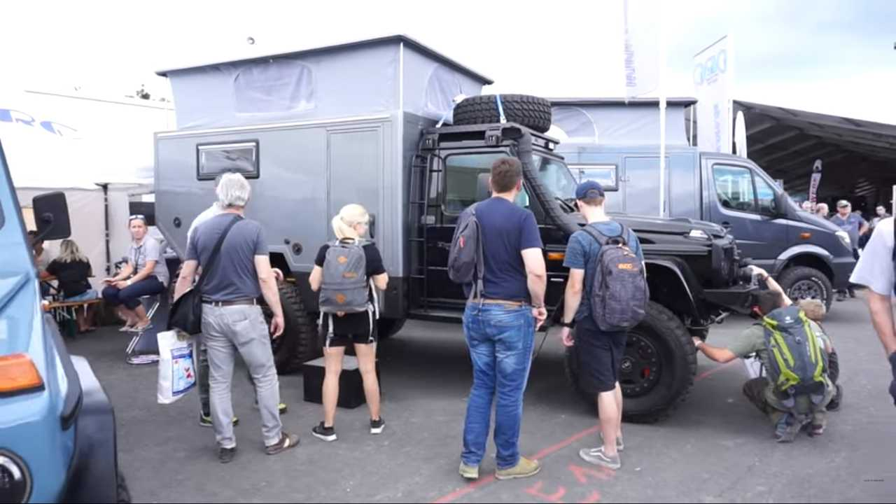 Mercedes-Benz G-Class Camper By ORC