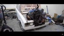 Verrückter Lada mit V8-Motor ist feinster russischer Irrsinn